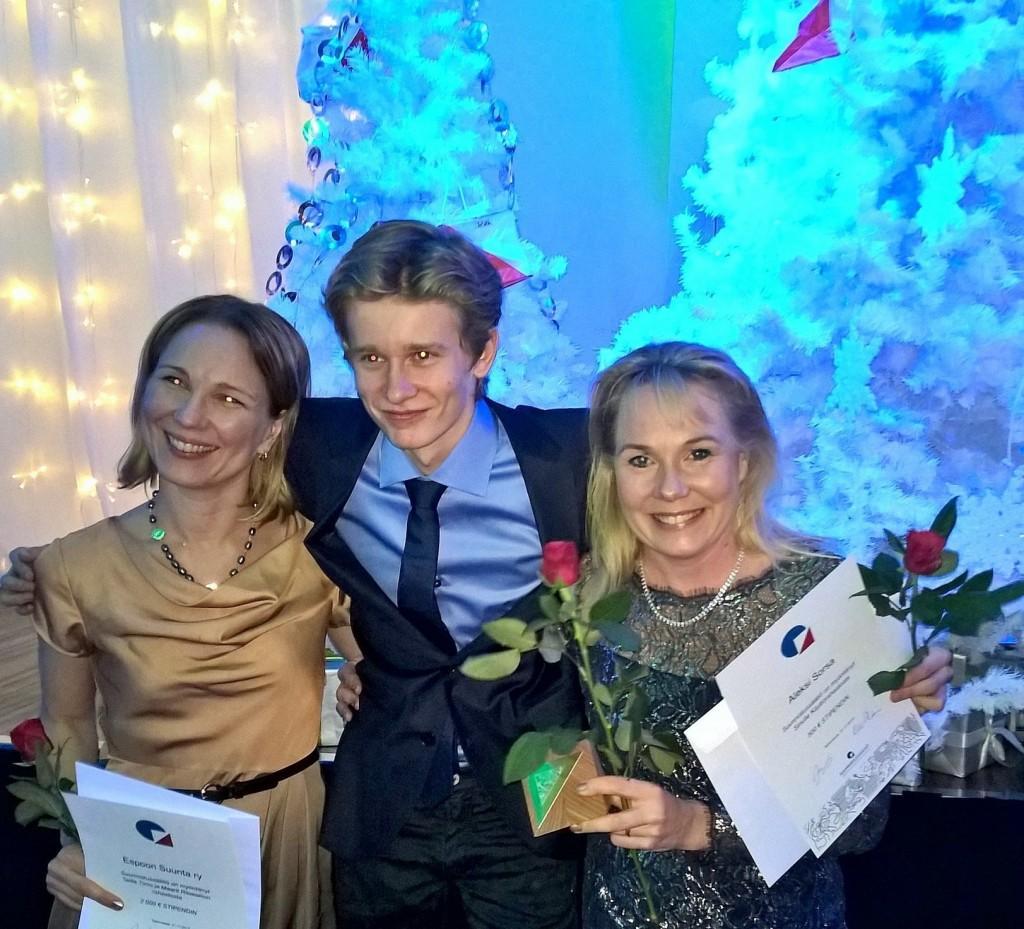 Rastikaronkan gaalajuhlassa palkintoja EsSuun
