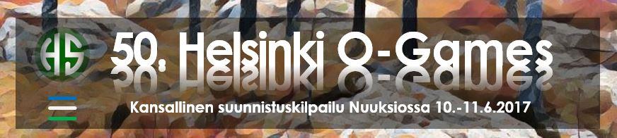 Helsinki O-Games on SM-viesti 2017 harjoitustapahtuma