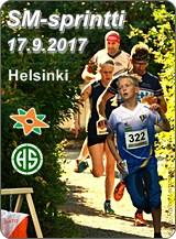 SM-sprint 2017 ja SM R1 viesti pääkaupunkiseudulla 16.-17.9.